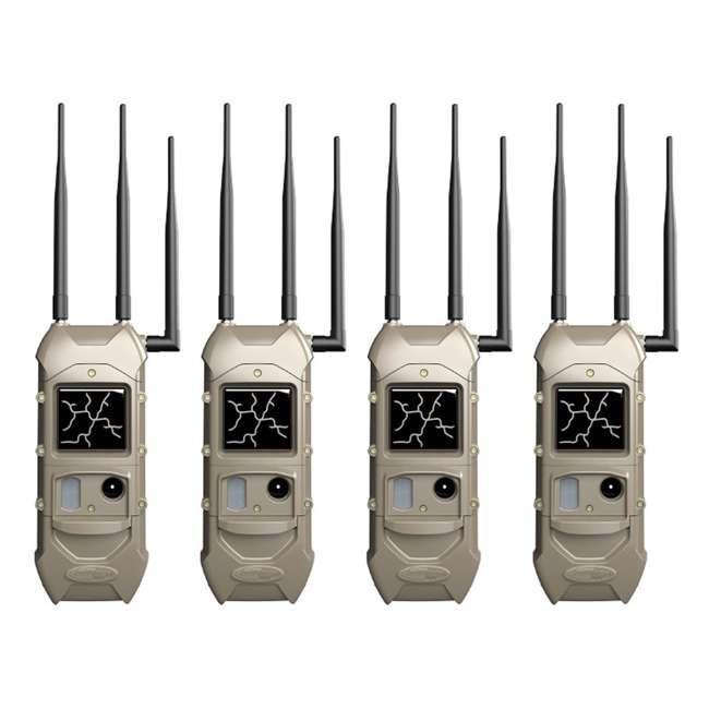 4 x K-5789 Cuddeback K-5789 CuddeLink 20MP Dual Cell Verizon LTE Trail Camera (4 Pack)