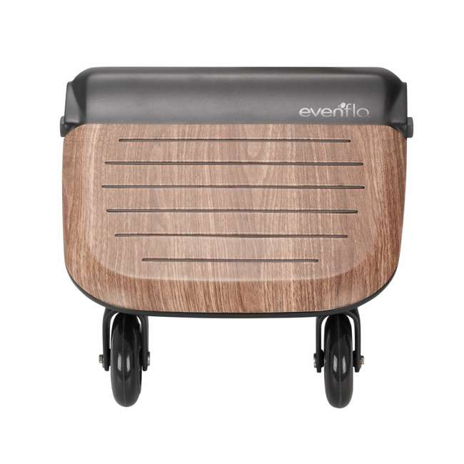 630439 Evenflo Stroller Stand and Ride Rider Board Accessory Attachment Only, Wood 2
