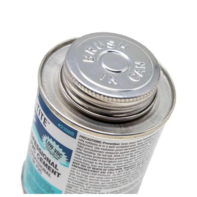 4 x 2356S United Elchem Pool-Tite PVC Cement, Blue (4 Pack) 4