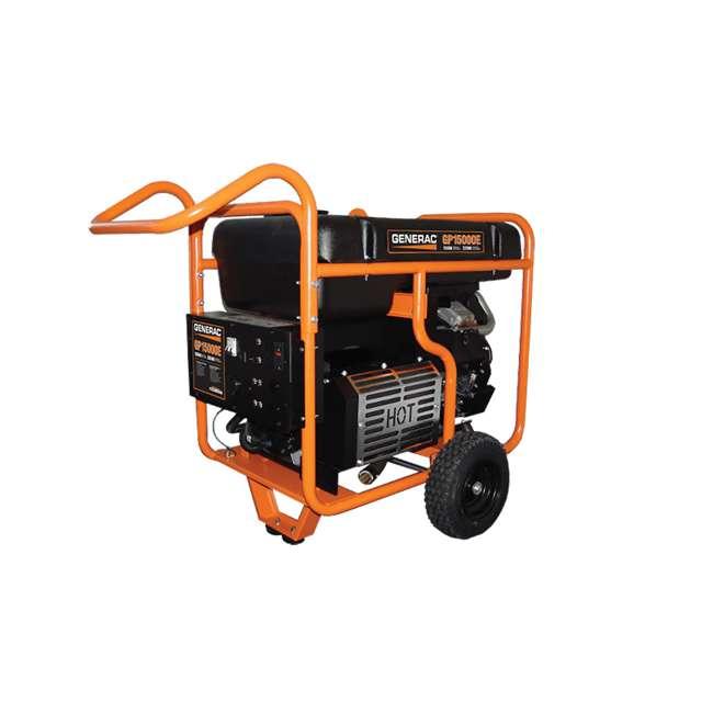 GNRC-5734 Generac 15,000-Watt Gas-Powered Portable Generator
