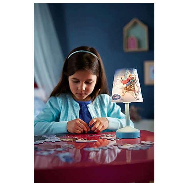 PLC-7179608U0  Philips Disney Frozen Portable Children Kids Bedside Table Lamp 7