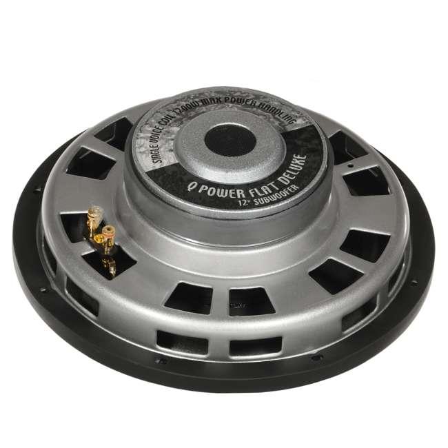 4 x QPF10-FLAT Q Power Deluxe 10 Inch 1000 Watt Flat Subwoofer (4 Pack) 5