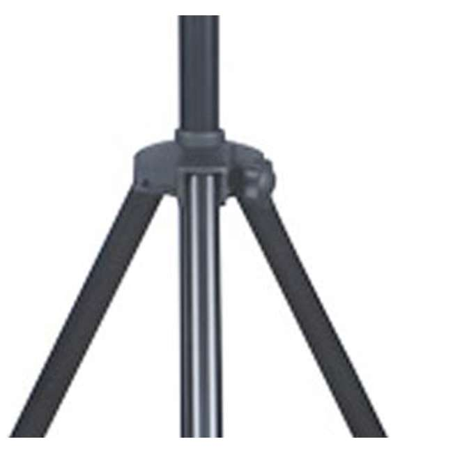 LTS-2-U-B LTS-2 Aluminum Black Heavy Duty 12 Ft Tripod T-Bar Light Stand (Open Box)  1