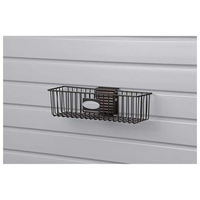 MB0311B Suncast Storage Trends Outdoor Indoor Wire Storage Basket (2 Pack) 1