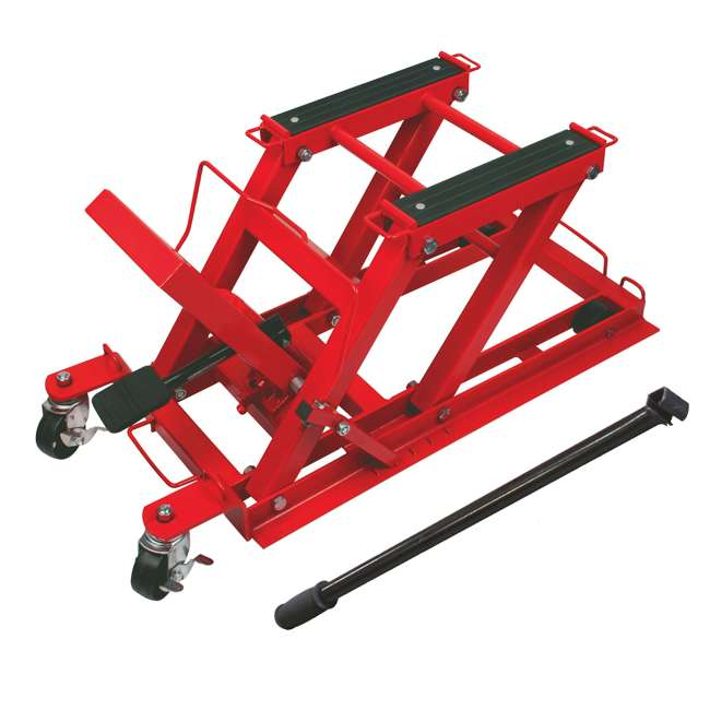 TOR-T64017-U-C Torin Big Red .75 Ton 1500lb Capacity Motorcycle ATV UTV Jack Lift (For Parts)