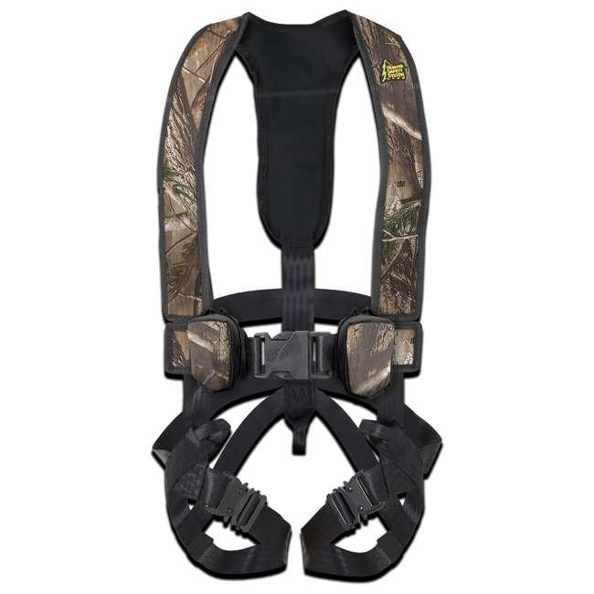 HSS-BP2X3X-U-A Hunter Safety Systems Alpha Tree Hunting Safety Trim Harness, 2XL/3XL (Open Box)