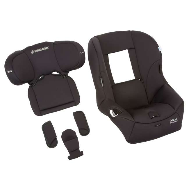 CC186BIZ Maxi-Cosi Pria 85 Car Seat Fashion Kit, Devoted Black