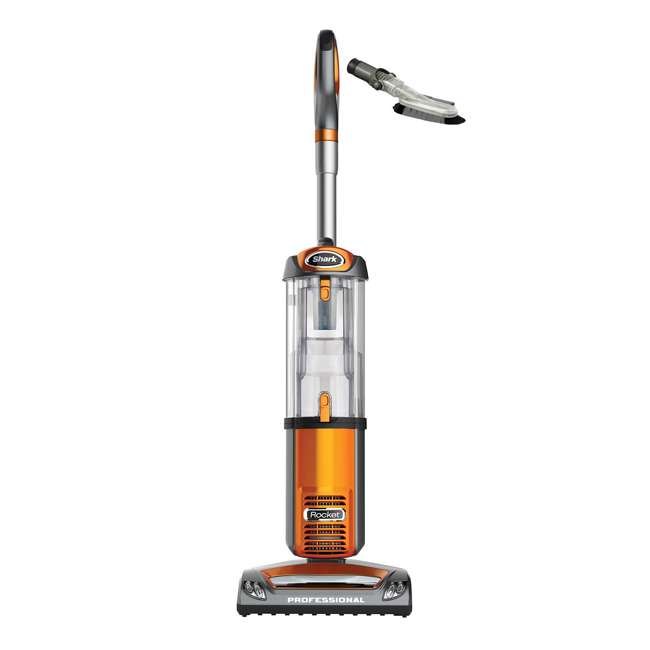 NV484_EGB-RB Shark NV484 Rocket Pro Upright Bagless Vacuum, Orange (Certified Refurbished)