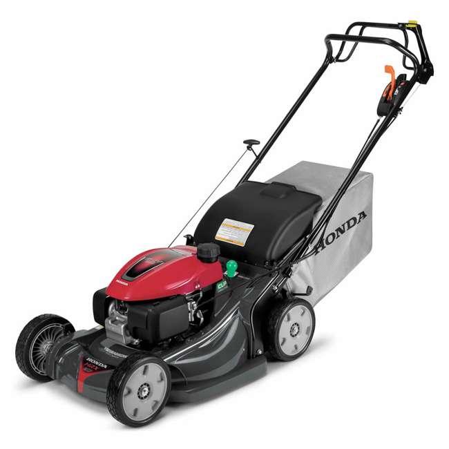 HRX217K6HYA Honda HRX217K6HYA 21 Inch 4 In 1 Versamow System Gas Walk Behind Lawn Mower, Red 2