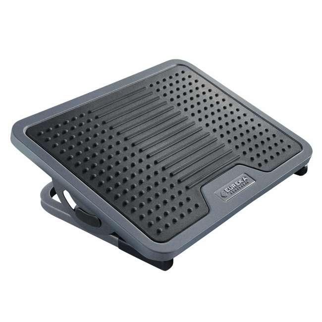 DSN-03048 Eureka Ergonomic Adjustable Footrest, Black & Gray