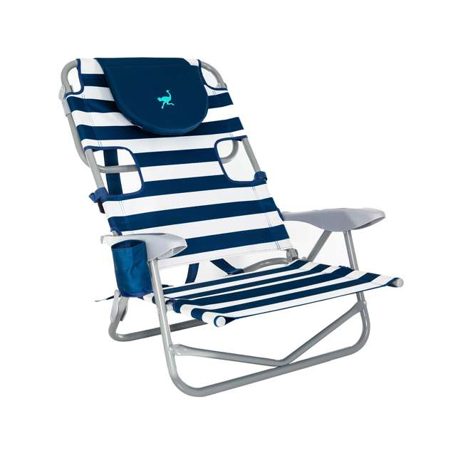 OYB-1003S Ostrich On-Your-Back Reclining Lounge Beach Chair 2