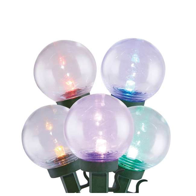 L9300026MU45 Home Heritage Christmas 300 LED Bulb String Light, Clear & Colored (2 Pack)