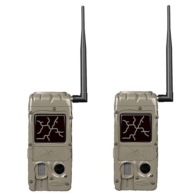 G-5055-CL-DUAL20 Cuddeback CuddeLink Hunting and Game Trail Cameras (2 Pack)