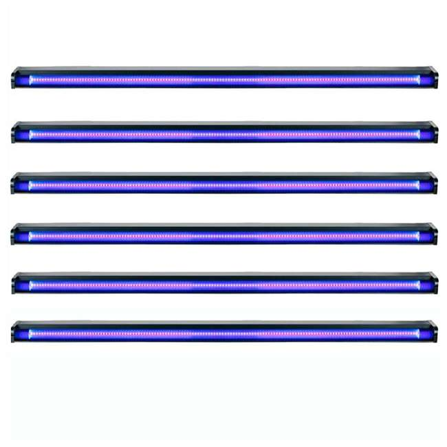 6 x UVLED-48 American DJ 48-Inch LED Black Light  (6 Pack)