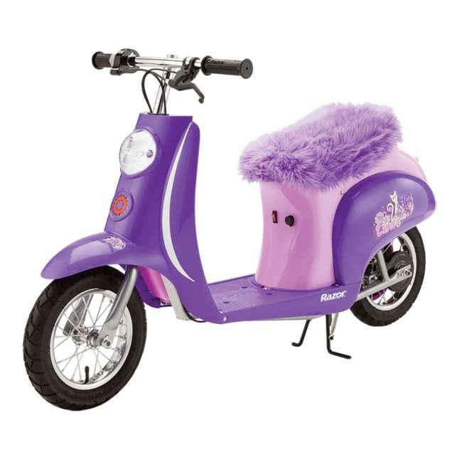 Razor Electric Scooter Pocket Mod Purple 15130689