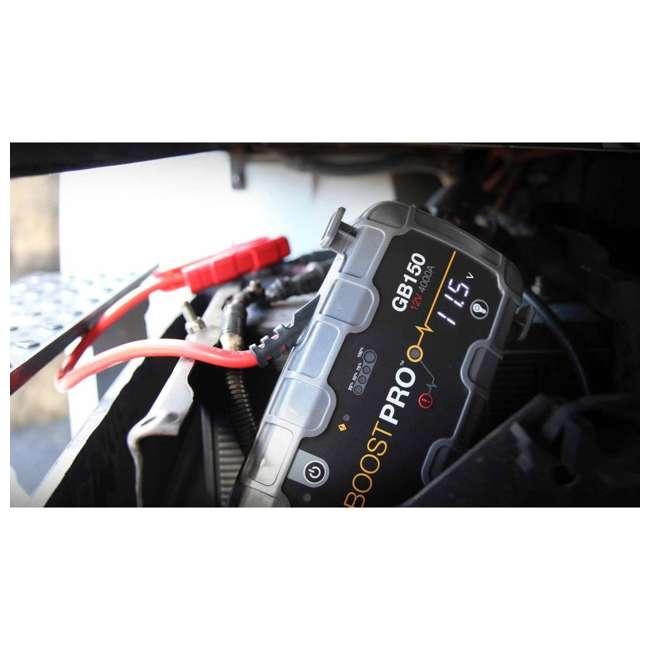 GB150 Noco Genius GB150 Boost Pro 4000-Amp UltraSafe Jump Starter 4