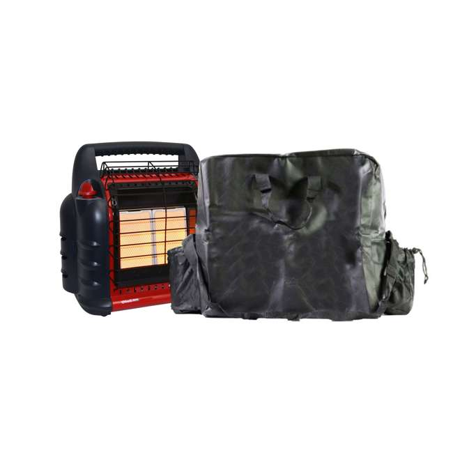MH-F274800 + MH-78019 Mr. Heater Big Buddy Portable Propane HeaterBig Buddy Carry Bag for MH-F232057 and MH-F274800