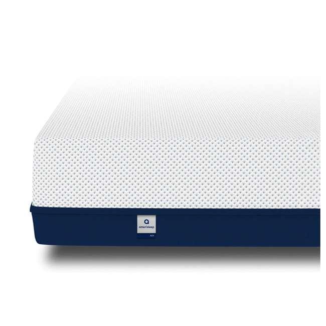 AS4-K Amerisleep AS4 Medium Softness Bio Core Plush Foam King Size Mattress, White 2