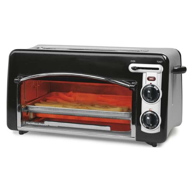 Hamilton Beach Toastation 2 Slice Toaster Amp Oven Combo 22708