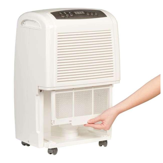 Haier electronic air dehumidifier with pump pint