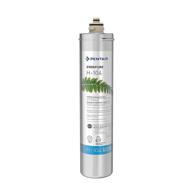 10 x EV961211 Pentair Everpure H-104 Water Filter Cartridge (10 Pack) 1