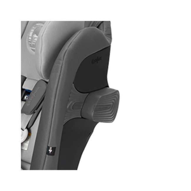 518002887 Cybex Gold Eternis S Convertible Infant Car Seat w/ SensorSafe, Pepper Black 3
