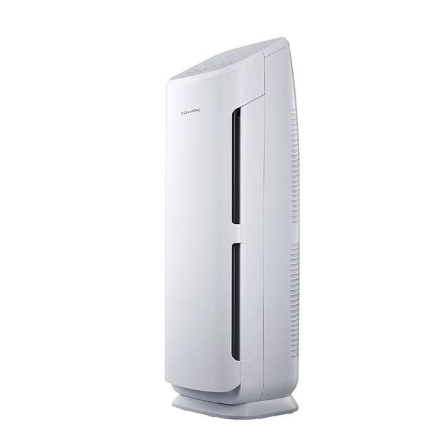 AP-1216L-U-A Coway 4 Stage Filtration Air Purifier Tower w/ True HEPA Filter, White(Open Box) 1