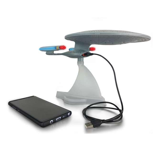 ST-ENTD Fametek Star Trek Enterprise 1701-D Bluetooth Speaker & Sleep Machine 5