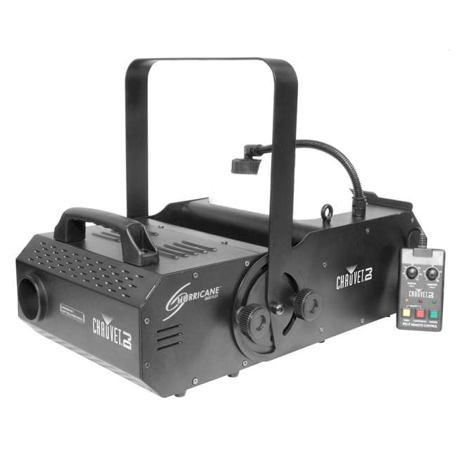 H1800FLEX + FJU + MINISTROBE-LED + BLACK-24BLB Chauvet DJ Hurricane Fog Machine with Fog Juice, Strobe Light & UV Black Light 3