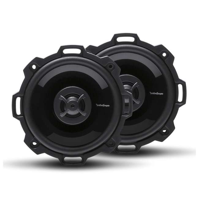 P142 Rockford Fosgate Punch P142 30W RMS 4 Inch 2 Way Full Range Car Speakers, Pair