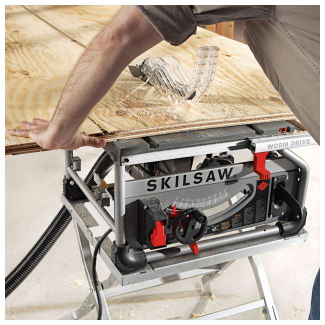 SPT70WT-22-OB Skilsaw SPT70WT-22 10-Inch Portable Worm Drive Table Saw (Open Box) 1