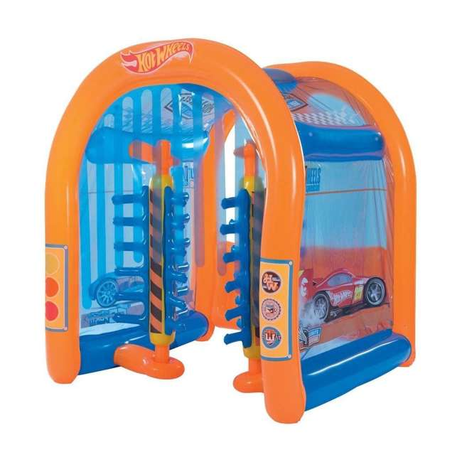 93406E-BW Bestway Inflatable Hot Wheels Car Wash Play Center