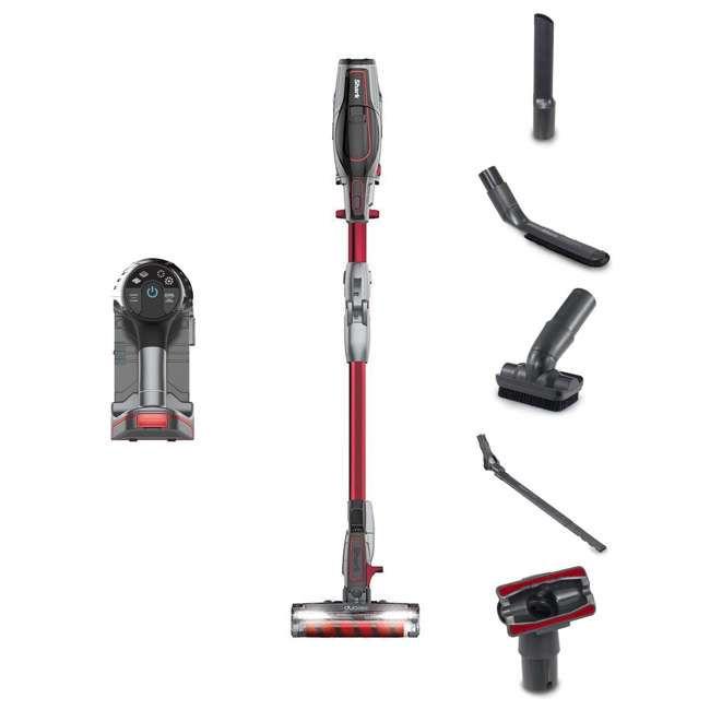 IC205_EGB-RB Shark Cordless Stick Vacuum, Red (2 Pack) (Certified Refurbished)