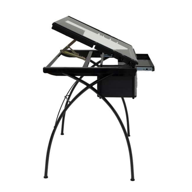 STDN-10072-U-B Studio Designs Futura Adjustable Arts & Crafts Drawing Desk Station (Used) 2