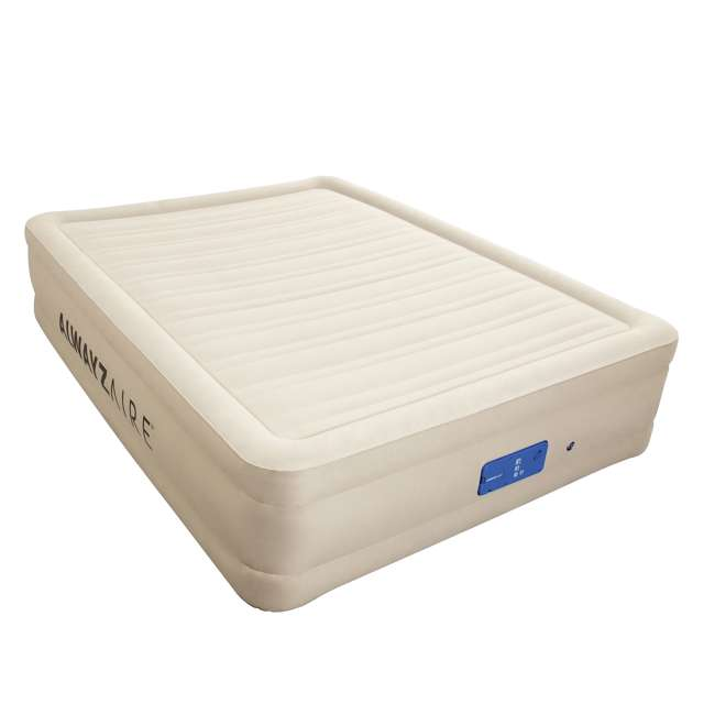 14534-BW-U-B Bestway 17 Inch Spring Air AlwayzAire Fortech Airbed with Built In Pump, Queen (Used)