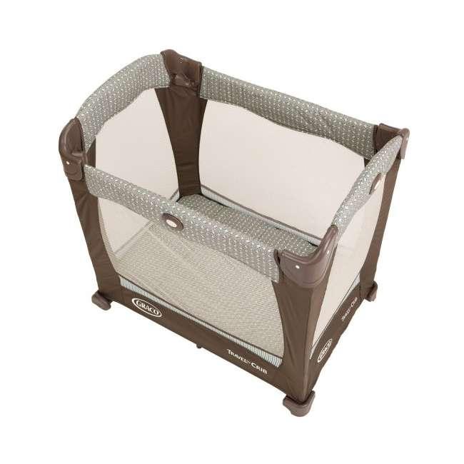 1780721 Graco Travel Lite Portable Baby Crib - Notting Hill 3