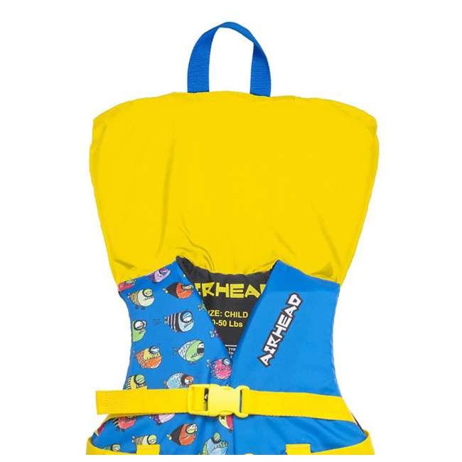 12 x 10086-02-A-BL Airhead Crayon Fish Child Life Vest, Blue (12 Pack) 4