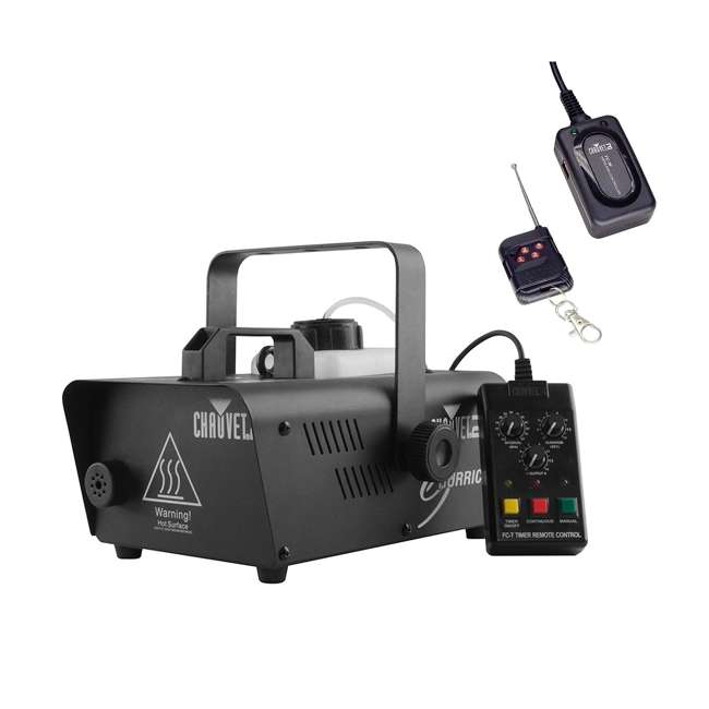 H1200 + FC-W CHAUVET DJ H1200 Fog Machine + FC-W Wireless Remote