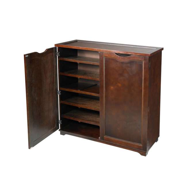 BOX0021721800 Merry Products 6-Tier Wooden Shoe and Storage Dresser