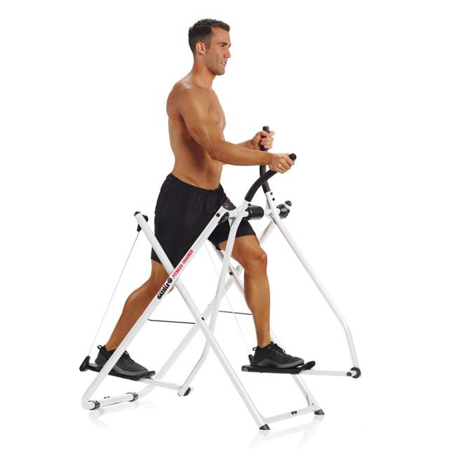 Gazelle Folding Cardio Workout Elliptical Trainer : GTRAINCAT