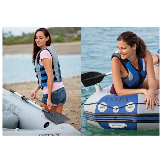 68373EP Intex Mariner 3-Person Inflatable Boat Set 7