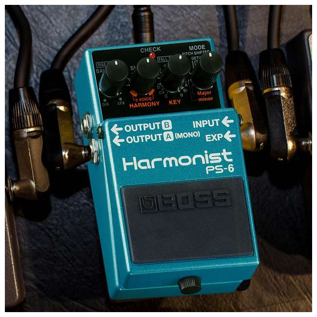 4 x PS-6 Boss PS-6 Pitch Single Effect Harmonist Pedal Guitar Stompbox (4 Pack) 4