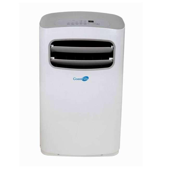 CEP-121A Coast Air CEP-121A 12000 BTUs Portable Wheeled Air Conditioner Floor Unit, White 1