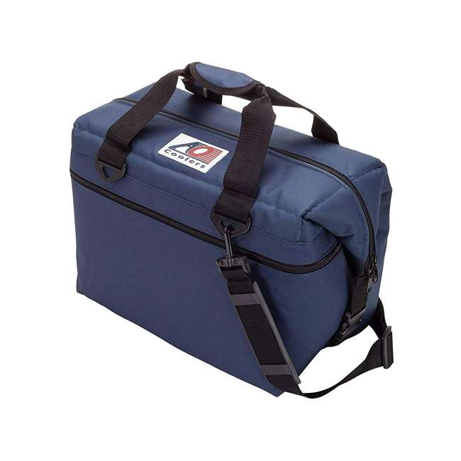 AO24NB AO Coolers AO24CH 24 Can Soft Cooler with High-Density Insulation, Navy Blue