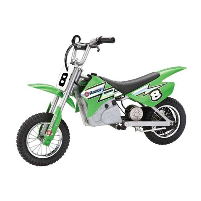 15128030 Razor MX400 Dirt Rocket Electric Motorcycle, Green