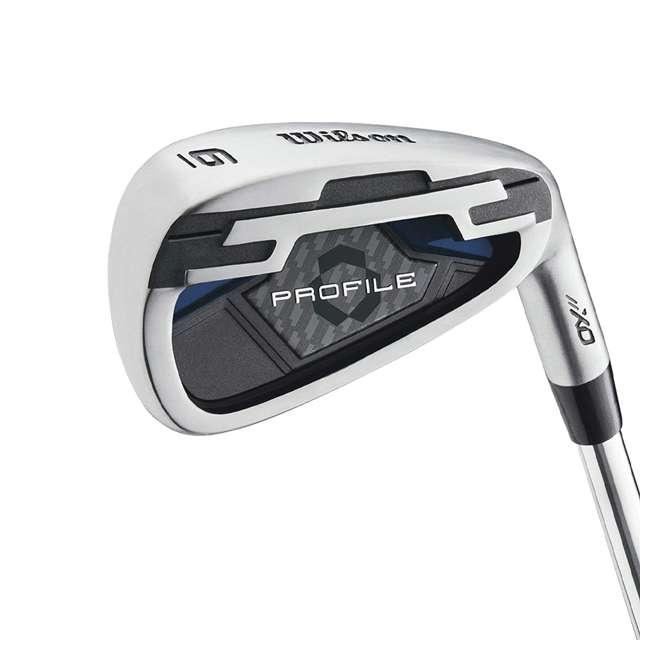 WGGC58200 Wilson Profile XD Men's Senior Right Handed Golf Club Set, Blue 1