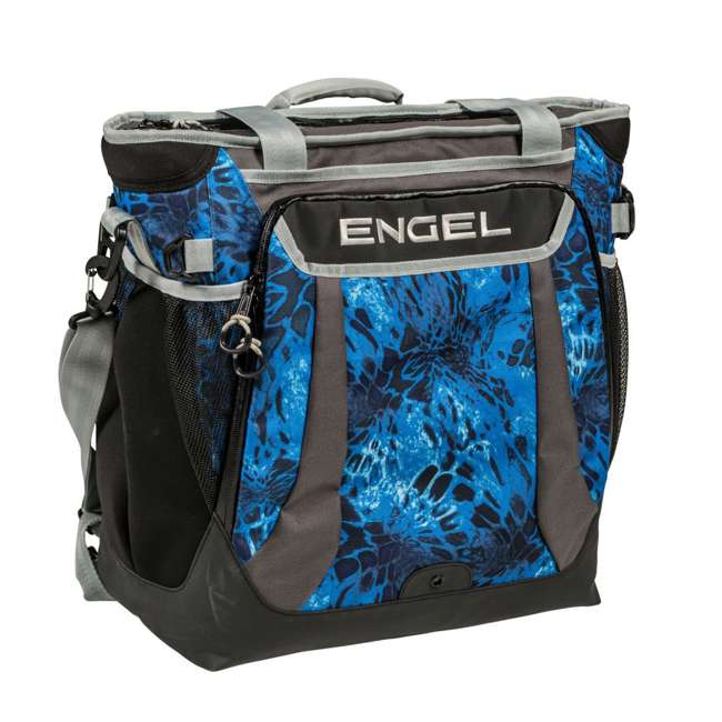 2000017933 + ENGCB2-P1SL Coleman Outdoor 6-Person Camping Tent & 24 Can Backpack Cooler 10