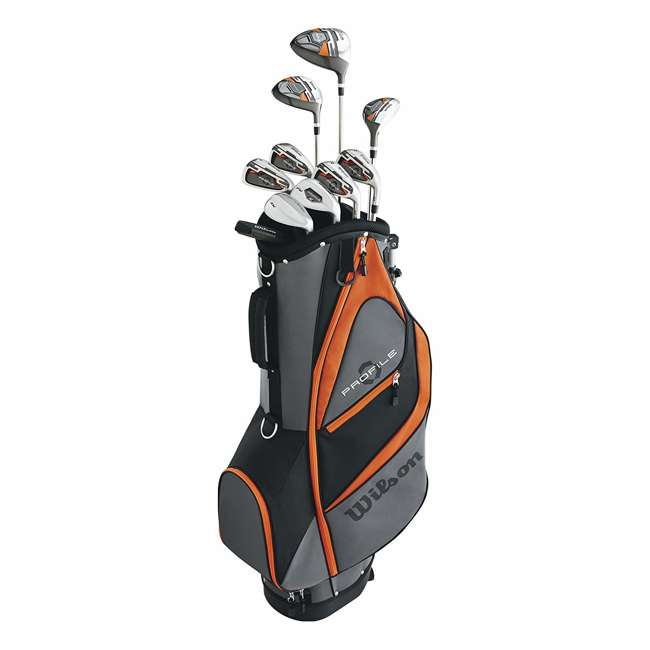 WGGC5830L Wilson Profile XD Teen Left Handed Golf Club Package Set w/ Carry Bag (2 Pack) 1
