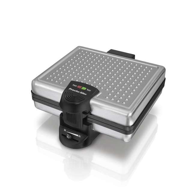 26016A Proctor Silex 4-Piece Belgian Waffle Maker | 26016A