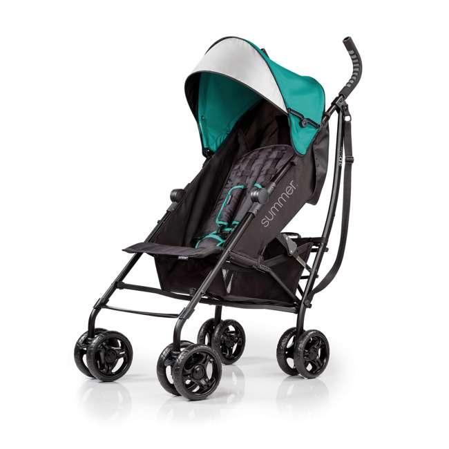 32693 Summer Infant 3Dlite Lightweight Folding Convenience Toddler Baby Stroller, Teal 3